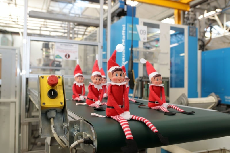 CPM Christmas Elf Campaign