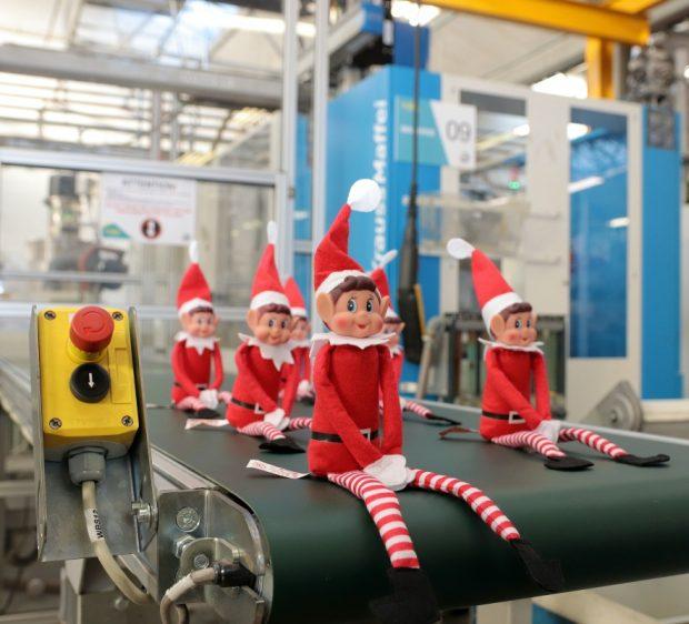 COBA Plastics Moulding 2019 Christmas Elf Campaign