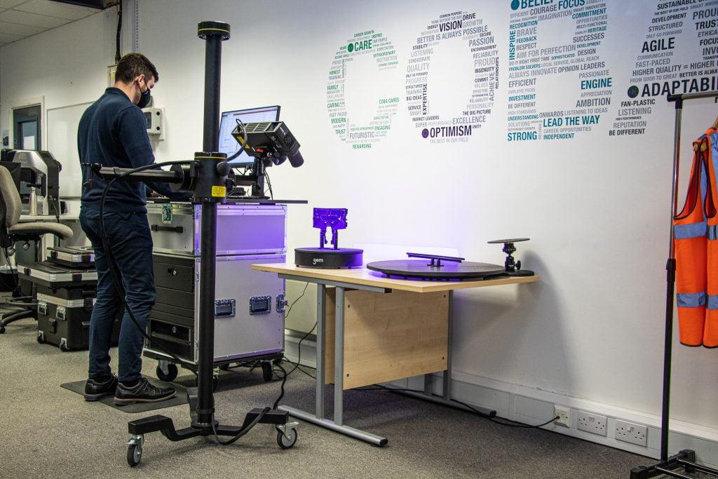 atmos q user measuring plastic moulding
